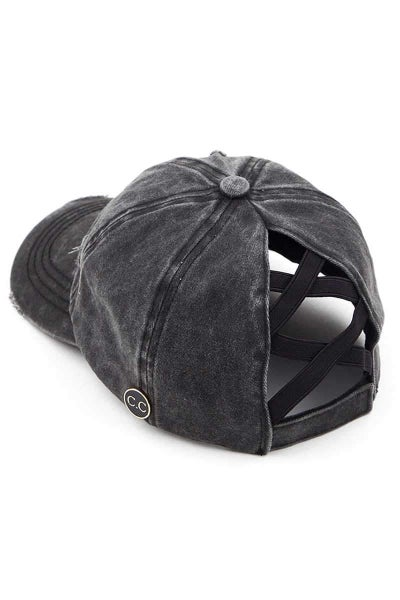 CC Crisscross Pony Mask Cap