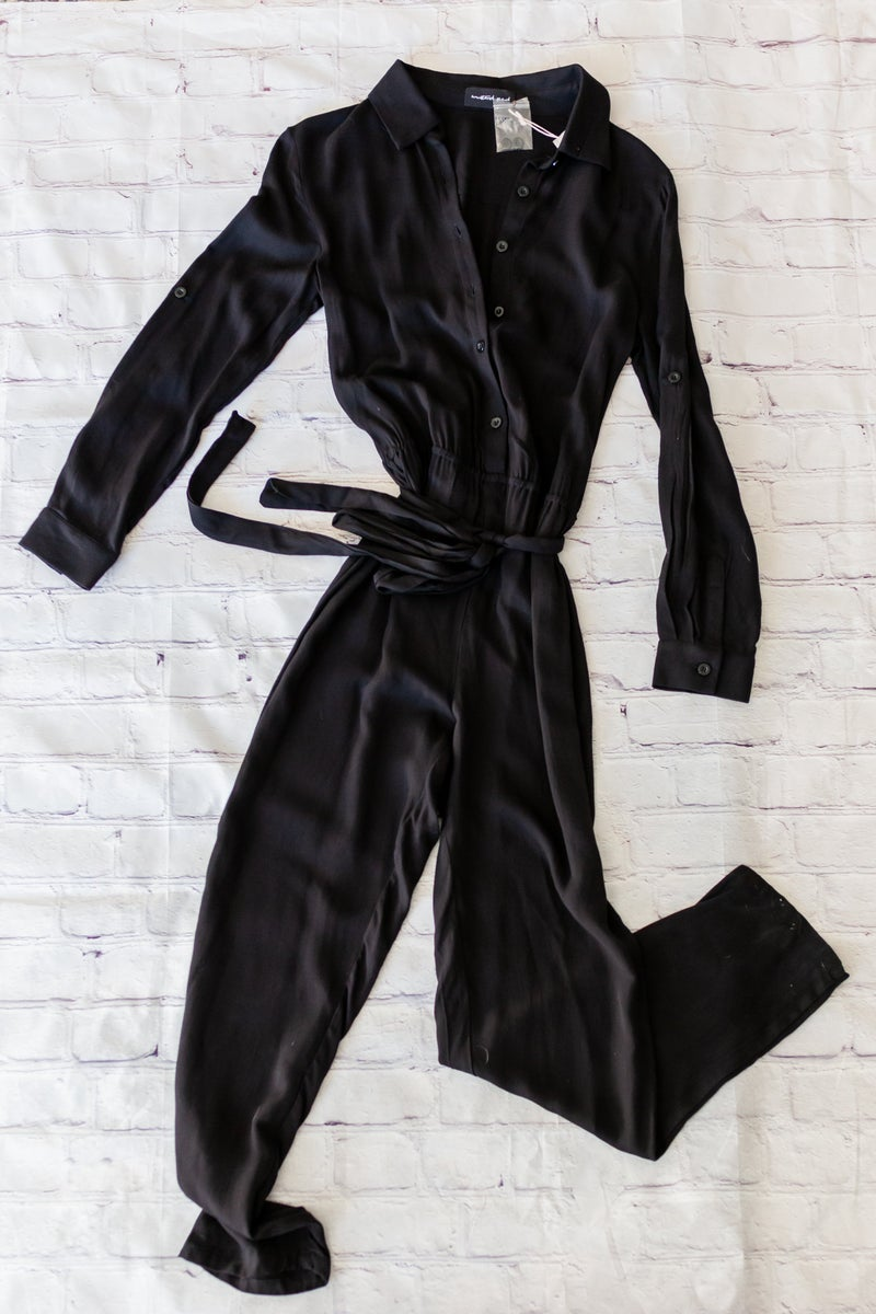Jump To It Jumpsuit by Mustard Seed