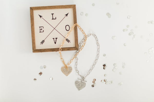 Toggle My Heart Necklace