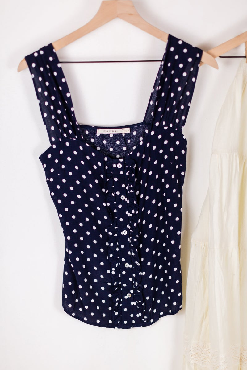 Connect The Dots Sleeveless Top by Ellison