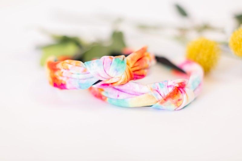 Dream Chaser Tie Dye Headband