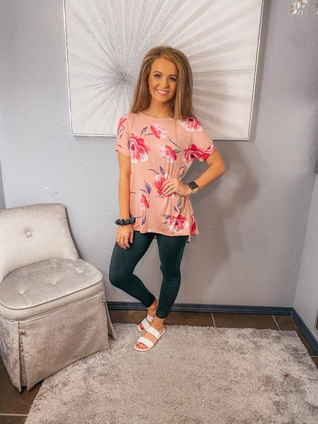<< FLORAL TUNIC >>