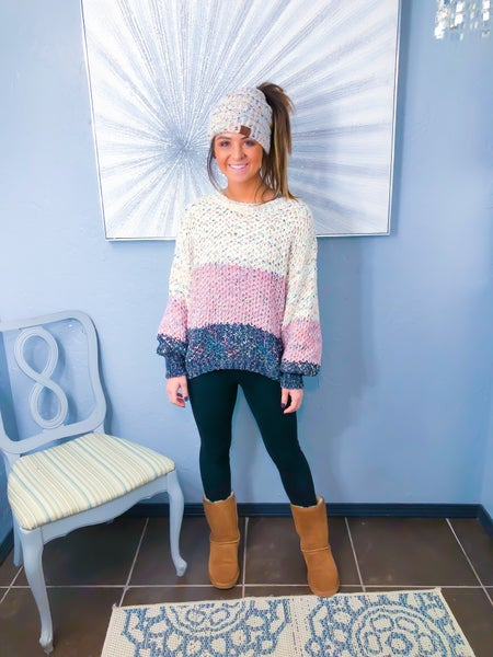 Chenille Confetti Sweater