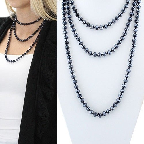 << BEADED NECKLACE >>