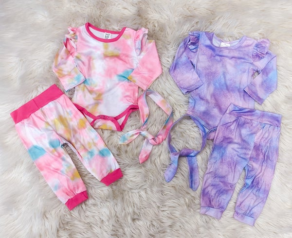<< INFANT TIE DYE OUTFIT >>
