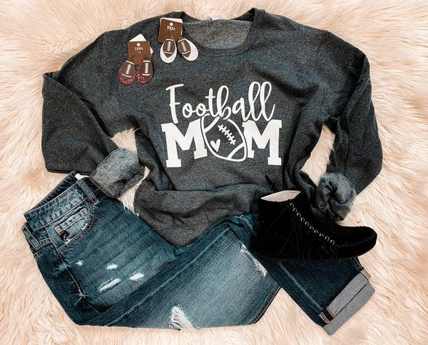 << FOOOTBALL MOM SWEATSHIRT >>