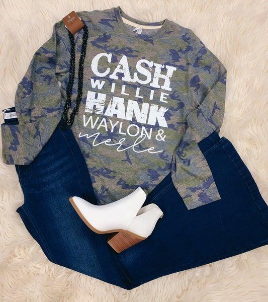<< CASH WILLIE HANK WAYLON & MERLE >>