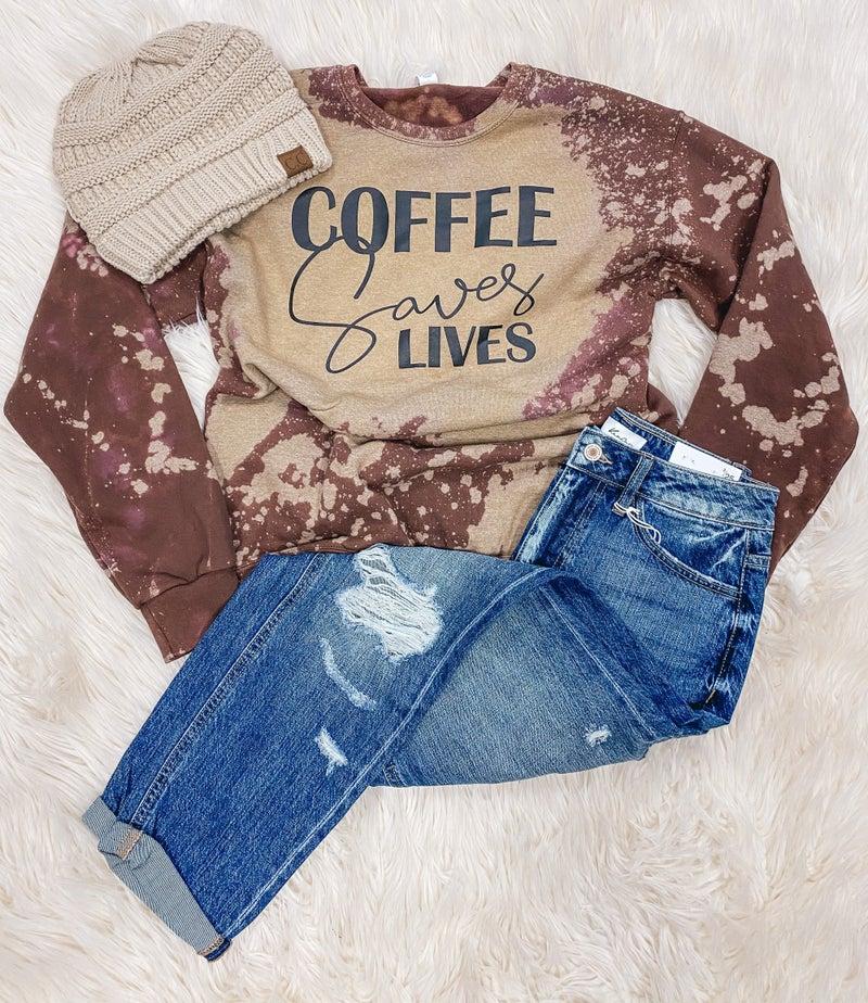 << COFFEE SAVES LIVES >>