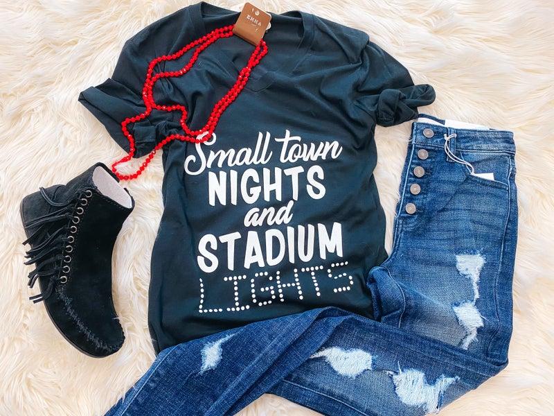 << SMALL TOWN NIGHTS & STADIUM LIGHTS >>