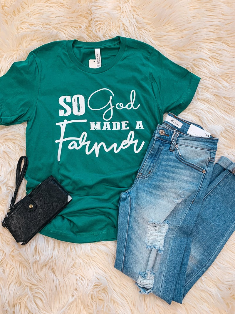 << SO GOD MADE A FARMER >>