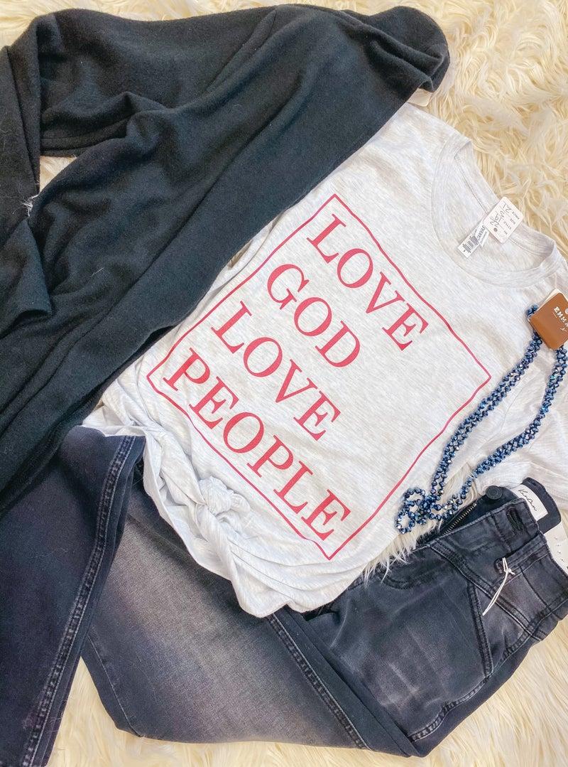 << LOVE GOD LOVE PEOPLE >>