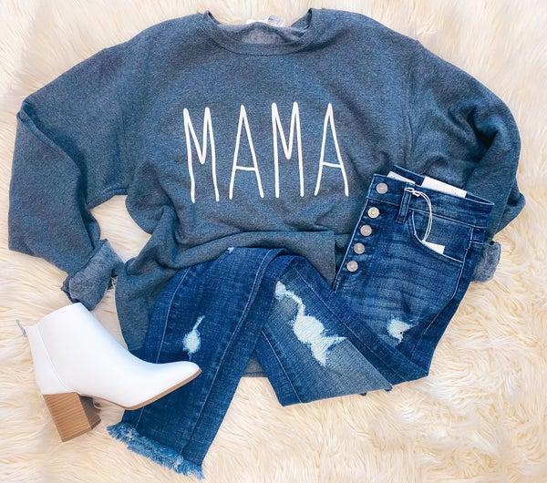 << SIMPLE MAMA SWEATSHIRT >>