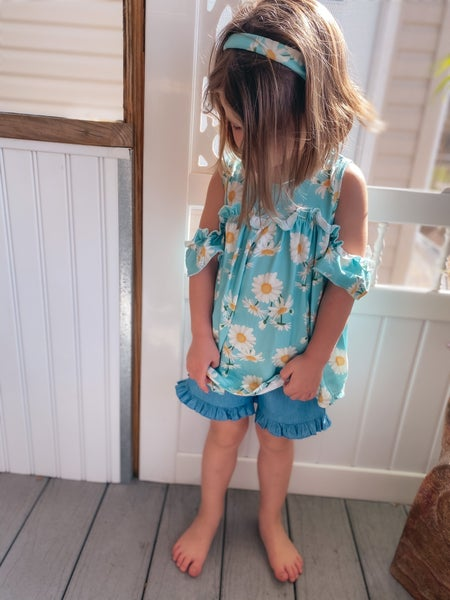 << GIRLS DAISY OUTFIT >>