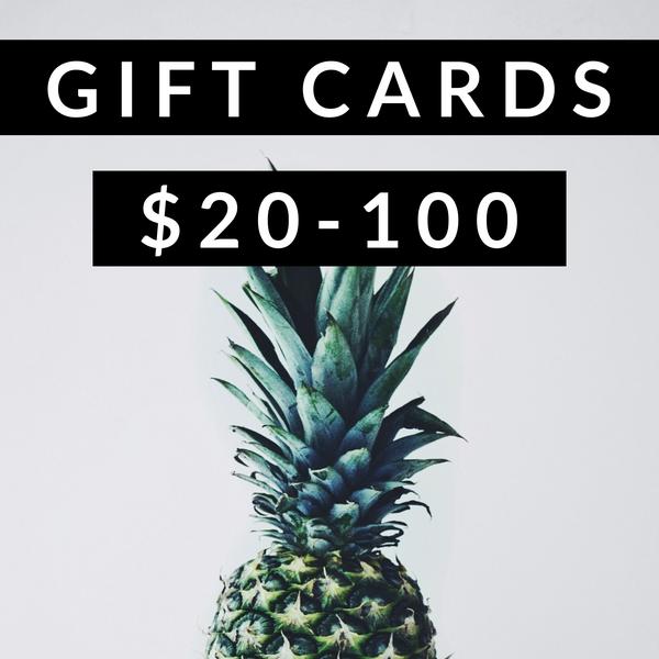 << GIFT CARD >>