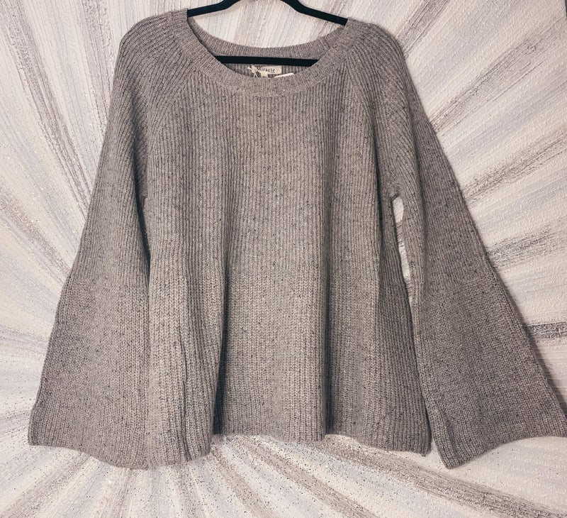 << CLASSIC MARBLED SWEATER >>