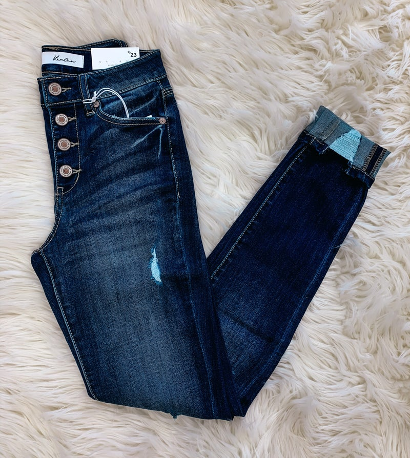 << BUTTON FLY SKINNY KANCANS >>