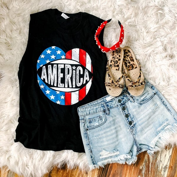 NEW AMERICA LIPS BELLA & CANVAS TANK!