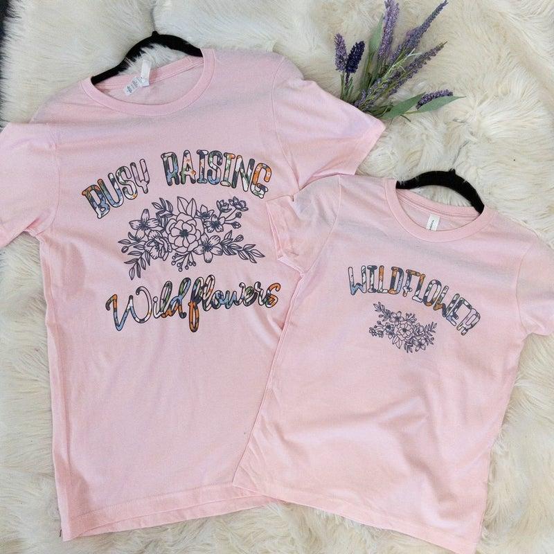 WILDFLOWER YOUTH GIRLS GRAPHIC TEE (MATCHES MAMA SHIRT)