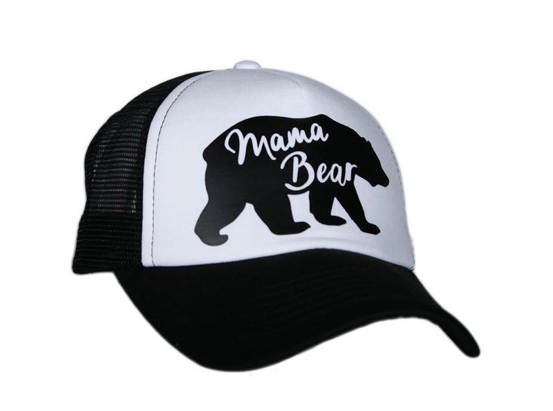 MAMA BEAR TRUCKER HAT