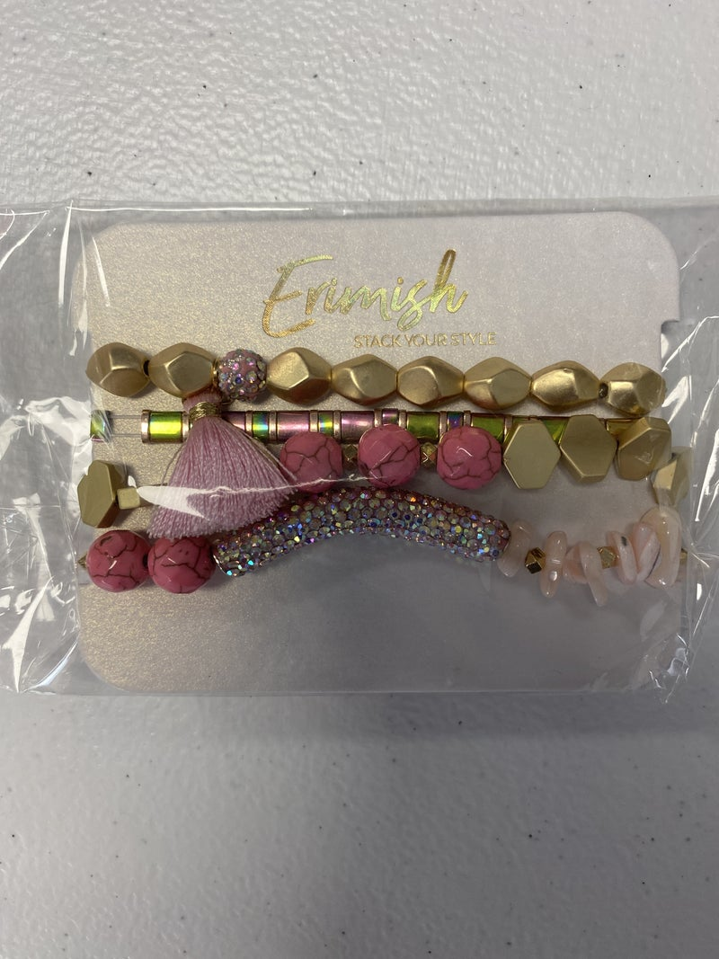 FLIRTY PINK STACK FROM ERIMISH