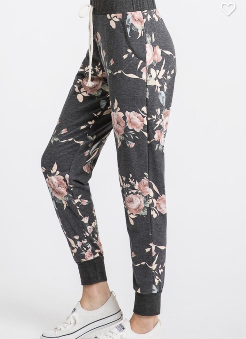 GORGEOUS FLORAL LOUNGE PANTS