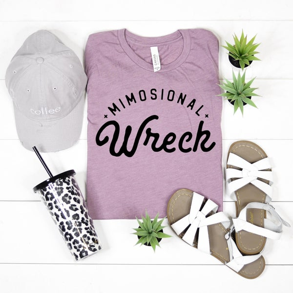 MIMOSIONAL WRECK GRAPHIC TEE