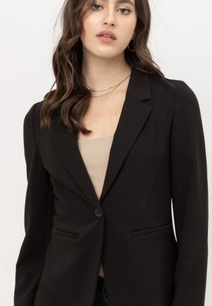 VERTIGO BLAZER IN BLACK