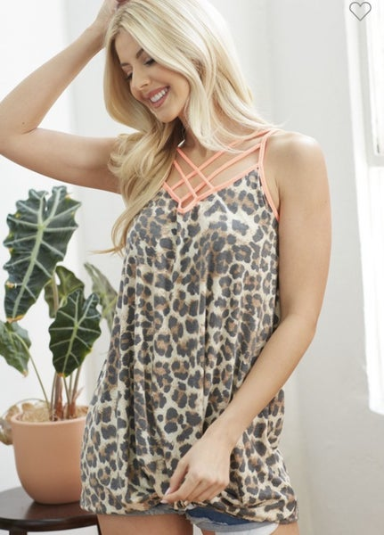 Heavenly Leopard Cami