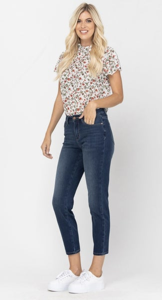 JUDY BLUE THERMADENIM RELAXED FIT JEANS