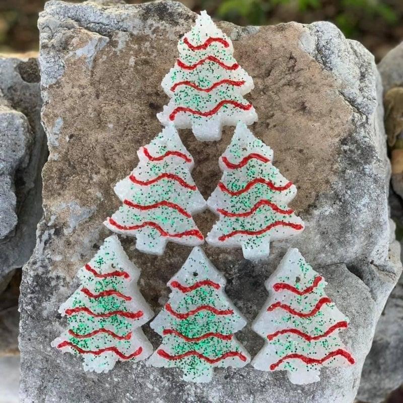 CHRISTMAS TREE CAKES CAR FRESHIES