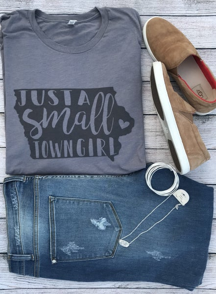 Small Town Girl Crew Neck Tee