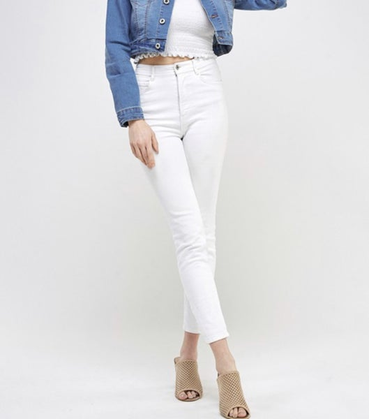 Super Stretchy White Jeans *Final Sale*
