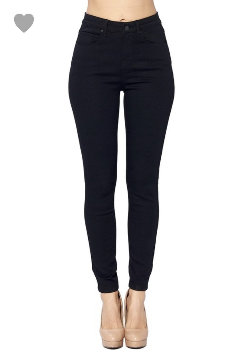 The Best Stretchy Black Jeans *Final Sale*