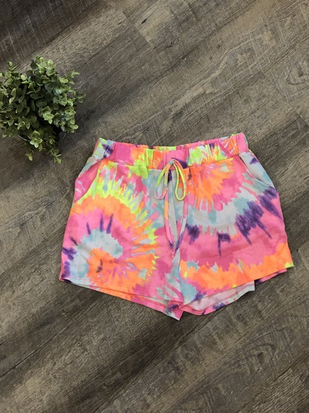 Honeyme Tye Dye Lounge Shorts