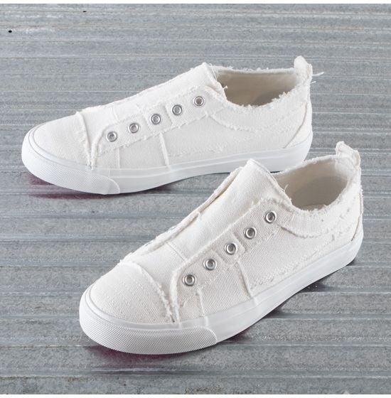 Corky's Slip On Sneaker WHITE