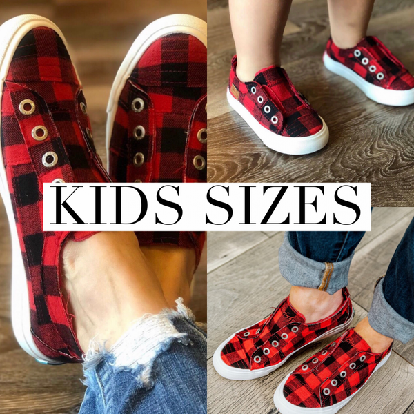 Blowfish Kids Checkered Sneaker