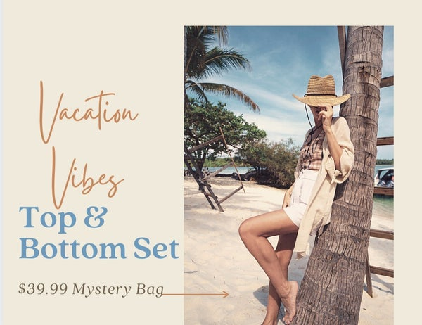 Vacation Vibes Top and Bottom Mystery Set