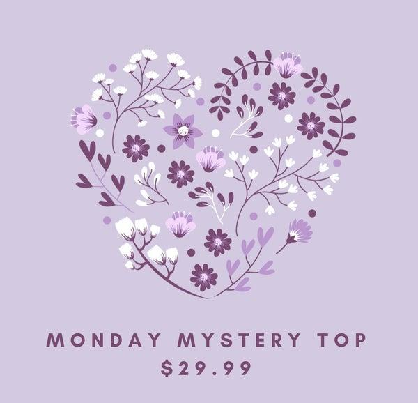 MEGHEN'S MONDAY MYSTERY TOP