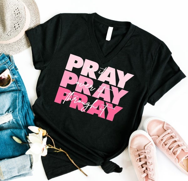 PRAY on it, over it, through it! Graphic Tee *Final Sale*
