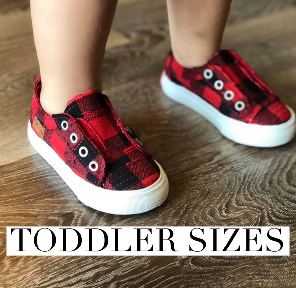 Blowfish Toddler Checkered Sneaker