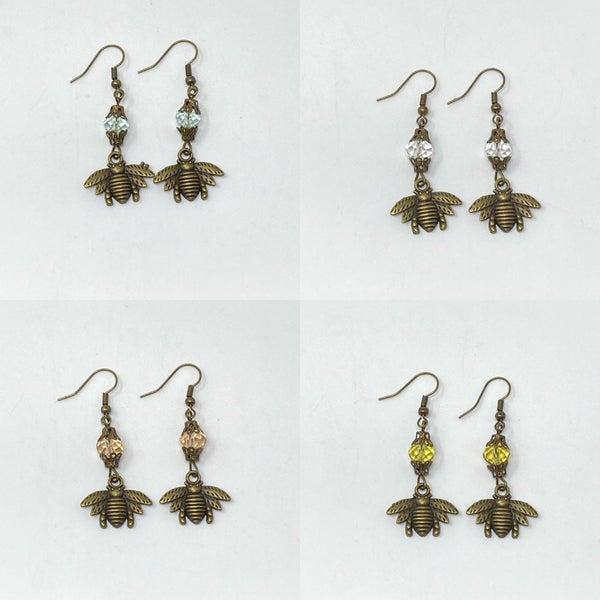 Melania Clara  Bee Earrings