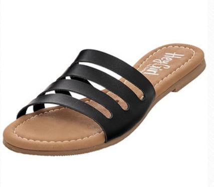 Corky's Bikini Sandal Black