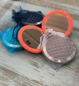 Compact Mirror 4 Piece Set WH