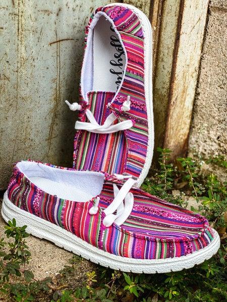 Chaska Pink Gypsy Jazz Shoes