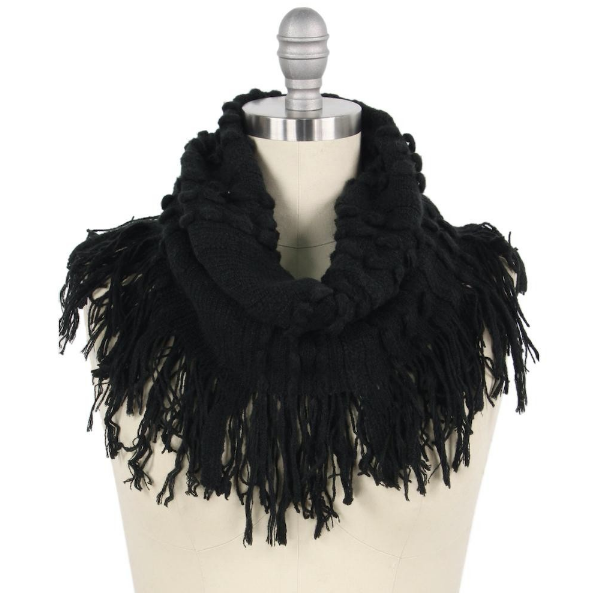 Eye On The Prize Scarf Black