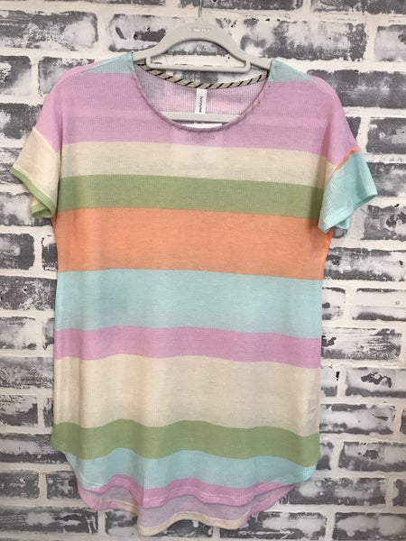 Stripes of Color Top