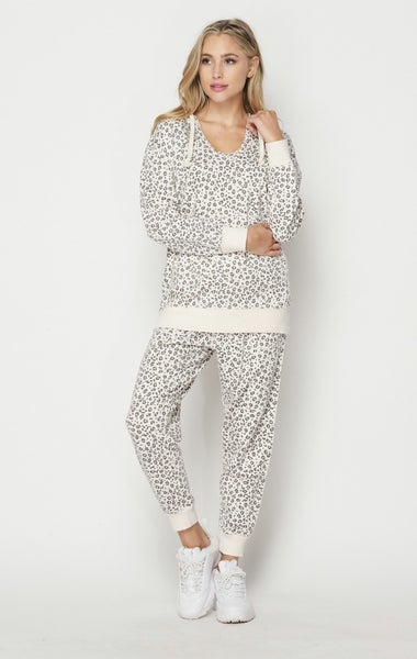 Honeyme Cheetah Joggers