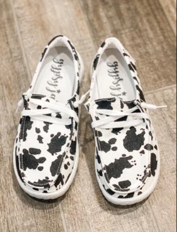 Moo-ve Over Gypsy Jazz Slip On Shoes