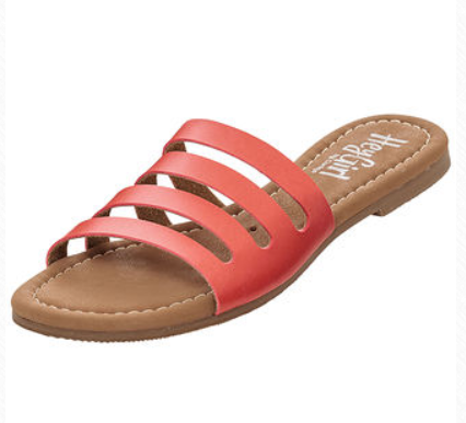 Corky's Bikini Sandal Coral
