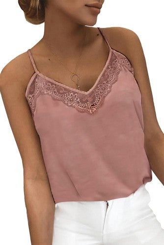 Lovely Lace Tank in two colors!